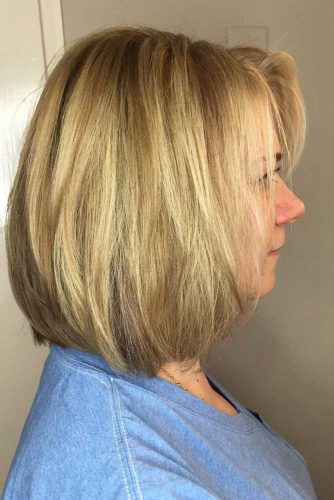 Blonde Highlights for Middle Length Hair