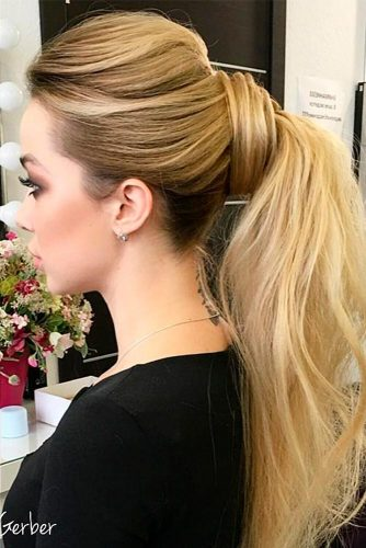 Cute Ponytail Hairstyles for Homecoming picture 1