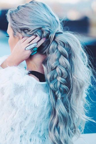 Cute Ponytail Hairstyles for Homecoming picture 2