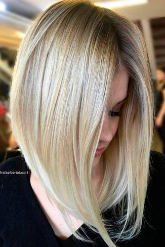 A Line Haircuts 18 Long And Short A Line Bob Hairstyles Ideas