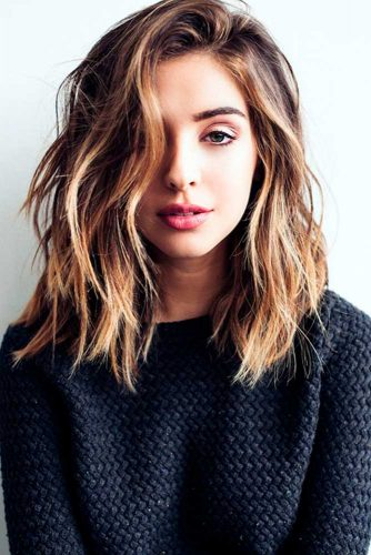 Medium Length Hairstyles 43 Ideas Of Medium Haircuts For Thick Hair Ladylife