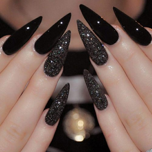 Stiletto Nail Designs: 24 Cute Stiletto Acrylic Nails ...