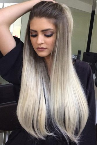 Blonde Ombre For Long Hair