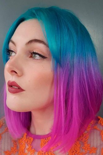 Two Tone Hair Color 18 Best Two Color Hairstyles Ideas Ladylife