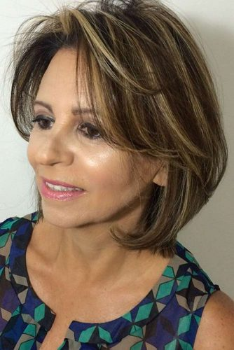 Medium Length Hairstyles For Women Over 50 Ladylife