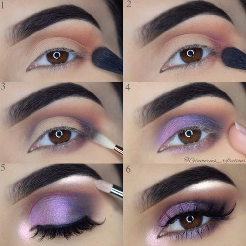Purple Lids and Liner