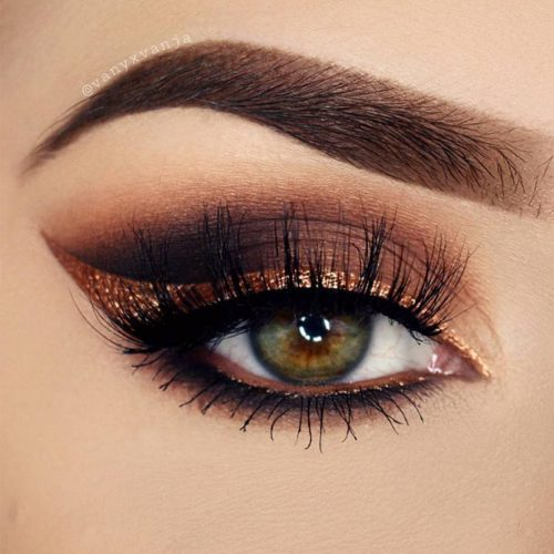 Smokey Brown and Gold