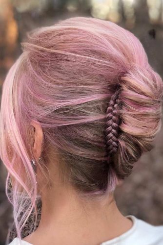 Updos With Neat Braids To Embrace Your Beauty picture 4