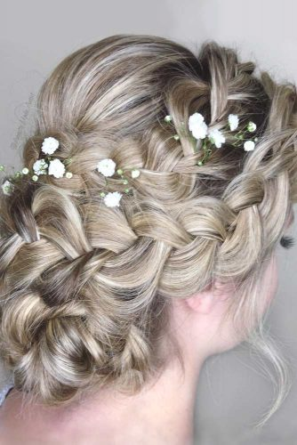 Updos With Neat Braids To Embrace Your Beauty picture 5