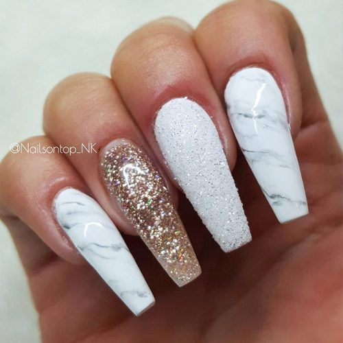 Bright Cute Nail Designs With Glitter Picture 3