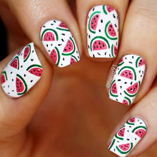 Cute and Awesome Nail Designs for Food Lovers Picture 2