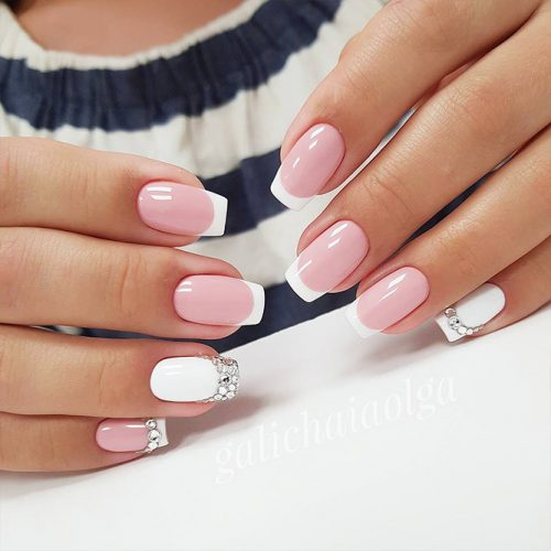 French Manicure Cute Nail Designs Picture 1
