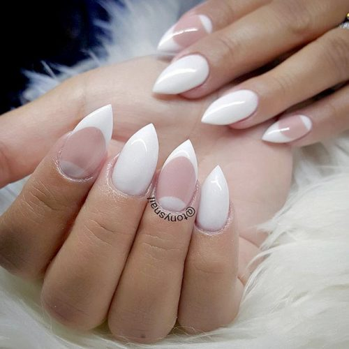 French Manicure Cute Nail Designs picture4