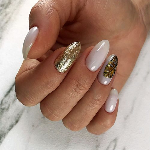 Awesome Bright Almond Nails Picture 3