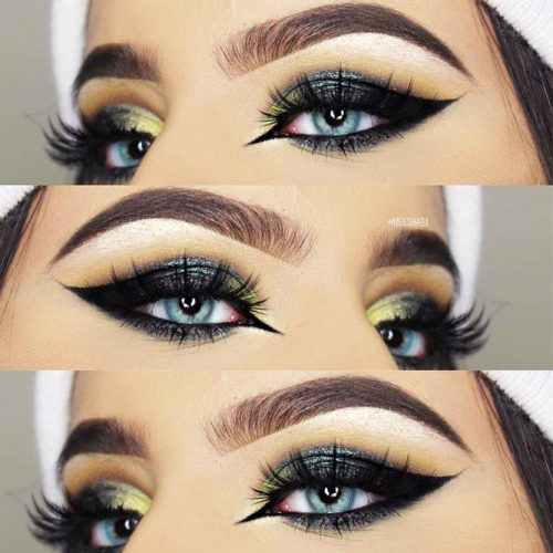 Awesome Makeup Ideas With Cat Eyeline picture 2