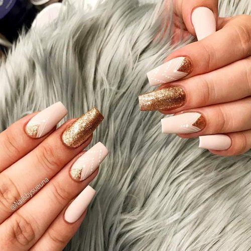 Bright Glitter Designs for Ballerina Nails Picture 4