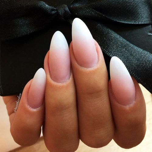 Almond Shaped Nails: 27 Cute Almond Shaped Nail Designs ...