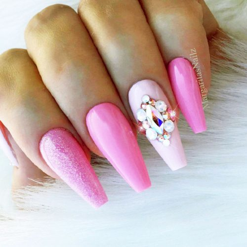 Fast and Easy Ballerina Nails Ideas Picture 5