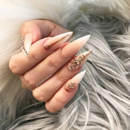 Incredible Matte Nude Nails Ideas Picture 1