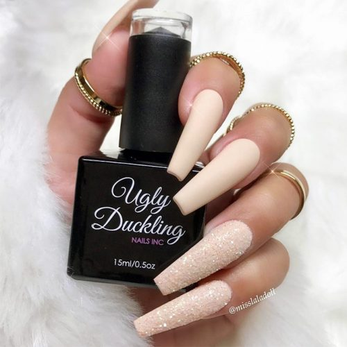 Incredible Matte Nude Nails Ideas Picture 2