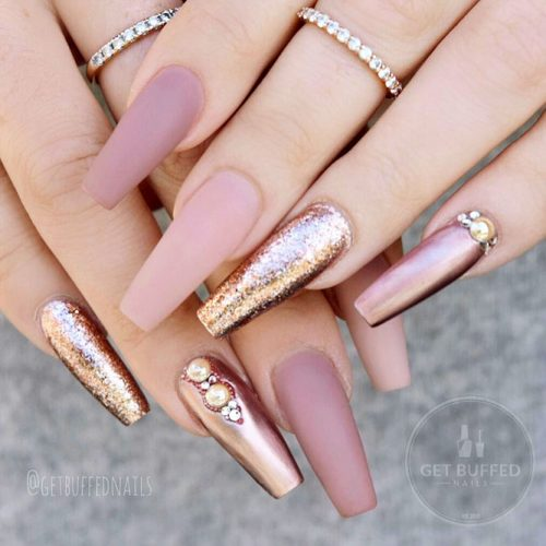 Incredible Matte Nude Nails Ideas Picture 4
