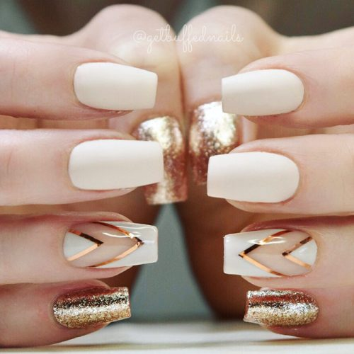 Incredible Matte Nude Nails Ideas Picture 5
