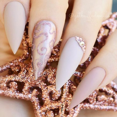 Incredible Matte Nude Nails Ideas Picture 6