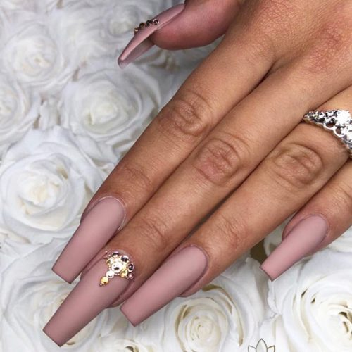 Matte Ballerina Nails for a Classy Look picture 3