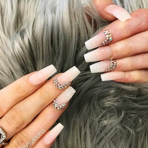 Nude Nails with Ombre Design Picture 6
