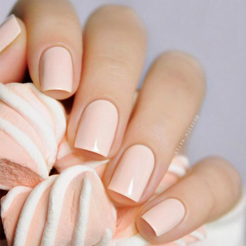 Super Easy Nude Nail Designs Picture 3