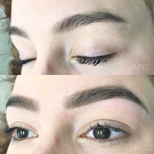 Threading Eyebrows Technique picture 1