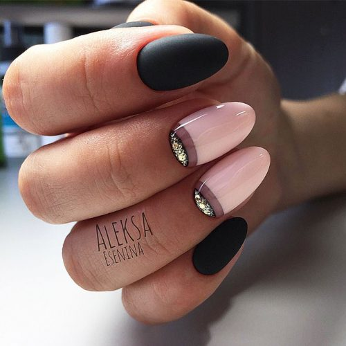 Trendy Designs With Combined Nail Colors Picture 5
